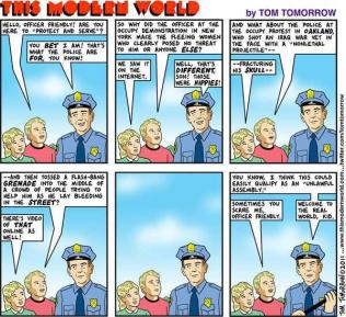 Tom Tomorrow Genius Brilliante